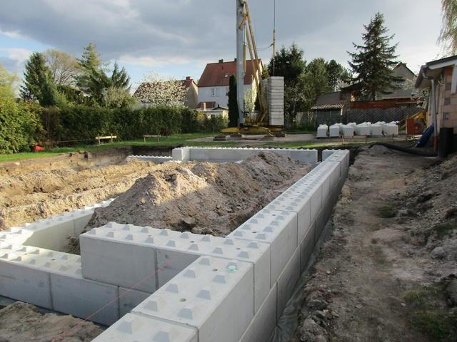 Betonwerk erich winkler gmbh - Fundament fur gartenmauer ...